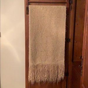 Tan Throw Blanket